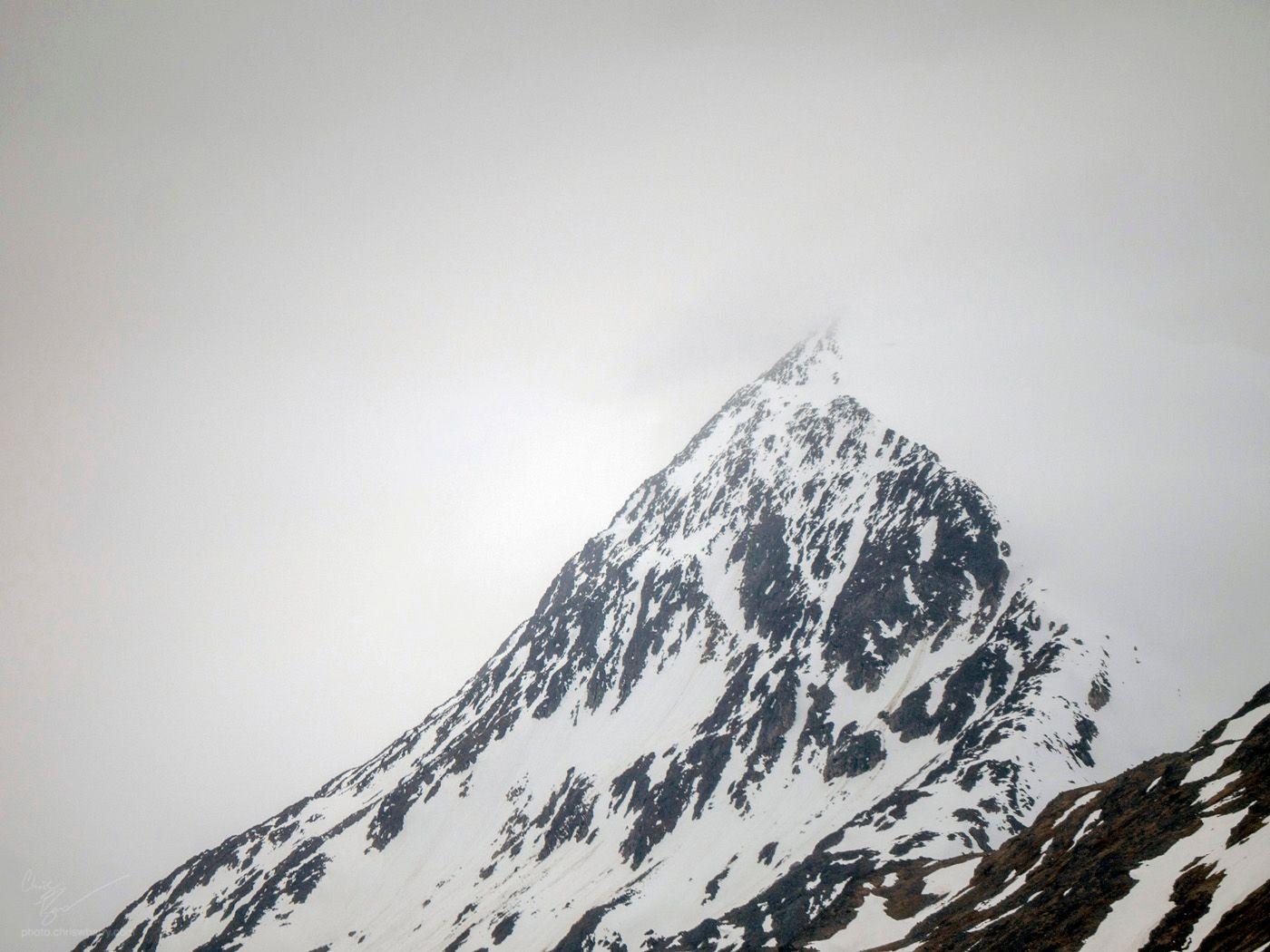 6-04-18: Snowy Mountain